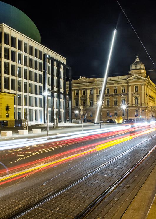 Muzička akademija Zagreb - Impozantna skulptura Igle izrađena prema viziji arhitekta Milana Šosteriča